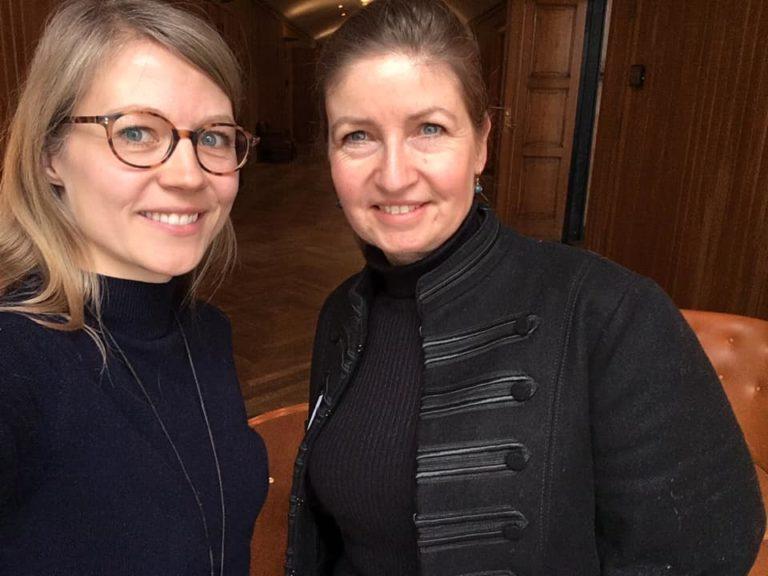 Rikke Rohr og Lotte Nystrup Lund